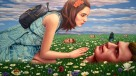 Alex Gross, The Butterfly, Corey Helford Gallery Photo credit- JulieFaith ©2017, All rights reserved.