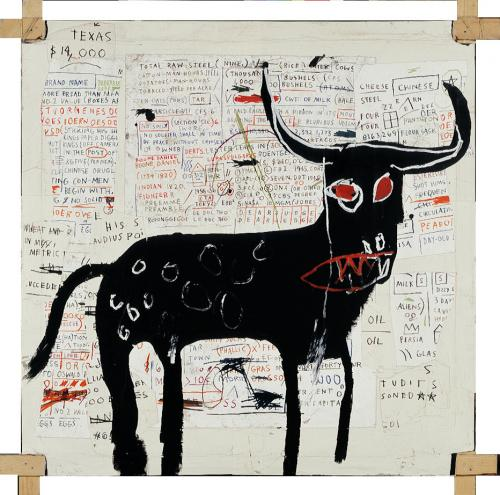 Creature. The Broad Museum. Beef Ribs Longhorn. Jean-Michel Basquiat. Photo Courtesy of the Broad Museum.