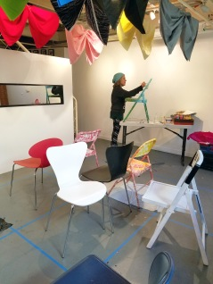 """Got Shui?"" by Karrie Ross at Shoebox Projects. Photo Credit Kristine Schomaker."