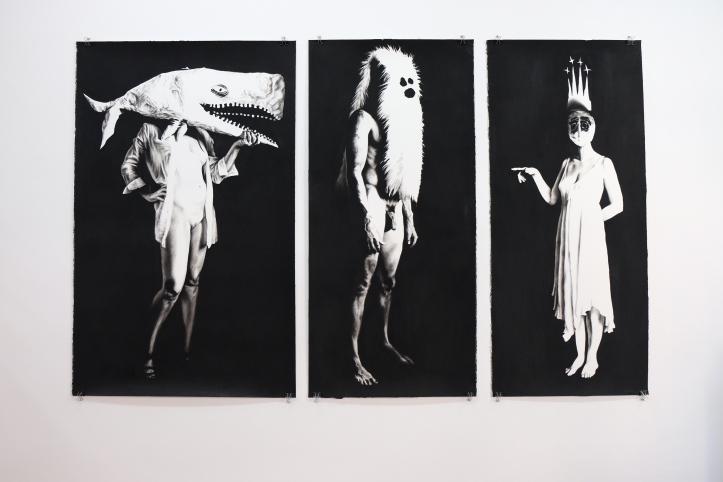 Leslie Lanxinger. White Whale. Coagula Curatorial. Photo Courtesy of Garrett Dorin.
