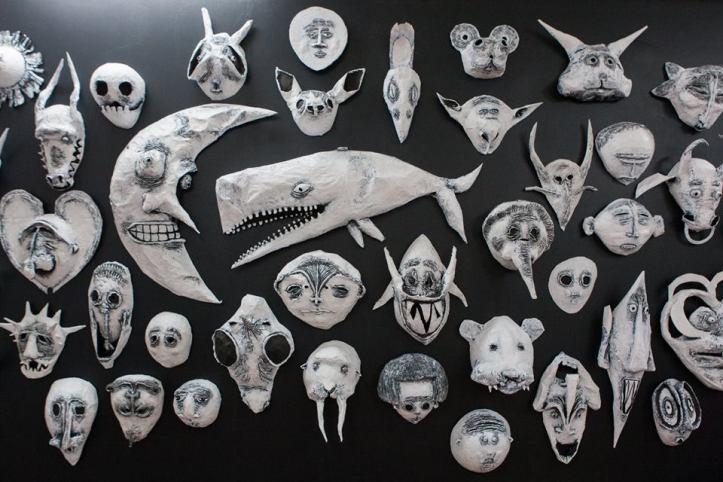 Leslie Lanxinger. White Whale. Coagula Curatorial. Photo Courtesy of Rouzanna Berberain.