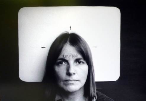 The Hammer Museum, Radical Women: Latin American Art, 1960 - 1985. Marie Orensanz, Limitada, 1978, Photograph, edition 1 of 5, 13 3/4 x 19 11/16 inches. Courtesy of the artist.