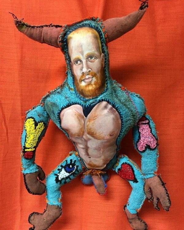 Stitch Fetish. Photo Courtesy of Hive Gallery.