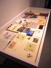 """Patricia Fernandez. Memory is in Progress (I-V). """"Ours Is A City Of Writers"""" at LAMAG. Photo Credit Patrick Quinn."""