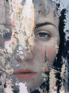 Meredith Marsone, See Me, Corey Helford Gallery Photo credit- JulieFaith ©2017, All rights reserved.