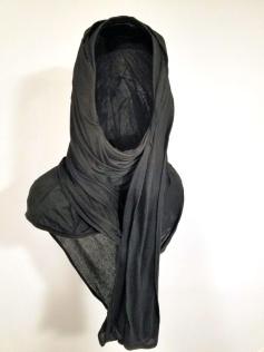 Abdul Mazid. Black Mirror. Charlie James Gallery. Photo Credit Jacqueline Bell Johnson.