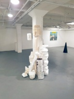 Dani Dodge. Black Mirror. Charlie James Gallery. Photo Credit Jacqueline Bell Johnson.