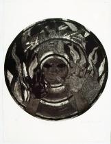 Belkis Ayón, Dejame salir (Let me Out!), 1998 Collograph. Nkame: A Retrospective of Cuban Printmaker Belkis Ayón Fowler Museum at UCLA, Photo Courtesy of the Fowler Museum.