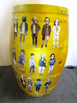 Botart International Barrel Art Exhibition - Brian Avila. Fabrik Expo. Photo Credit Patrick Quinn.
