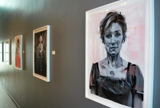 "Rebecca Campbell. ""You Are Here,"" Kwan Fong Gallery at Cal Lutheran University. Photo Credit Jennifer Susan Jones."
