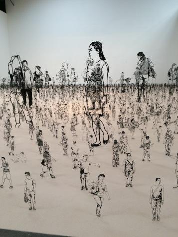 Zadok Ben-David: People I Saw but Never Met. Shoshana Wayne Gallery. Photo Credit Jody Zellen.