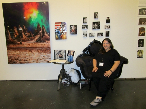 Cathy Immordino. Photo Independent. Fabrik Expo. Photo Credit Patrick Quinn.