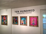 Ten Hundred. Variegated Visions. Gabba Gallery. Photo Courtesy of Gabba Gallery. Photo Credit Elena Jacobson.