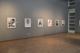 "Rebecca Campbell. ""You Are Here,"" Kwan Fong Gallery at Cal Lutheran University. Photo Credit Cal Lutheran University."