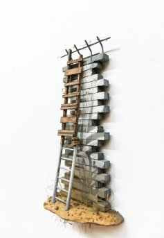 Konecki. The Thing About Walls Is. Gabba Gallery. Photo Courtesy of Gabba Gallery.