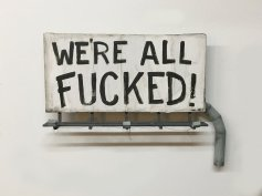 Konecki. We're All Fucked. Gabba Gallery. Photo Courtesy of Gabba Gallery.