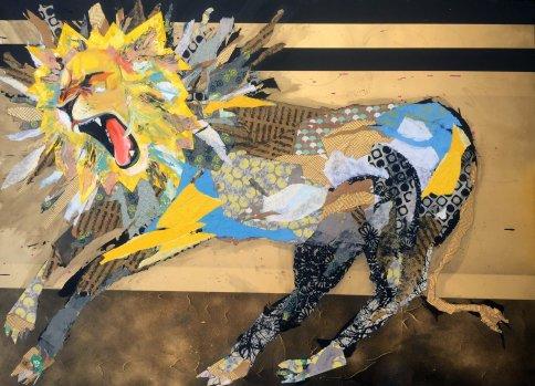 Essi Zimm. The King Star. Gabba Gallery. Photo Courtesy of Gabba Gallery.