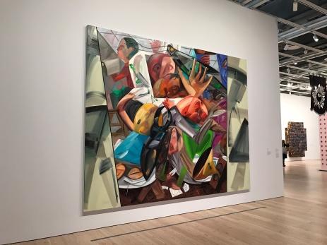 Dana Schutz. 2017 Whitney Biennial. Whitney Museum of American Art, New York City, New York. Photo Credit Mario Vasquez.