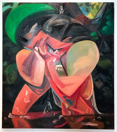 Dana Schutz. 2017 Whitney Biennial. Whitney Museum of American Art, New York City, New York. Photo Credit Mario Vasquez.