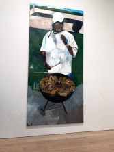 Henry Taylor. The 4th, 2012-2017. 2017 Whitney Biennial. Whitney Museum of American Art, New York City, New York. Photo Credit Mario Vasquez.