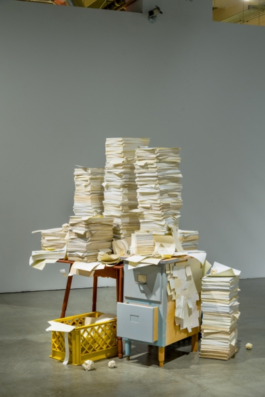 Jeff Colson. Stacks. Pasadena Museum of California Art. Interstitial. Photo Courtesy of PMCA. Photo Credit Don Milici.