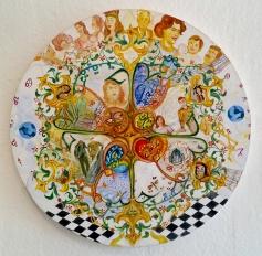 Marjan Vayghan. Astrological Chest. Los Chingonas. Avenue 50 Studio. Photo Credit Patrick Quinn.