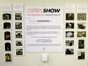 Pasadena Photography Arts Open Show. Photo Independent. Fabrik Expo. Photo Credit Patrick Quinn.
