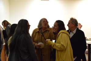 Opening Reception. Personal Narrative. Annenberg Community Beach House Gallery. Photo Credit Kristine Schomaker.
