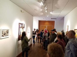 Diane Williams. Personal Narrative. Artist Talk. Annenberg Community Beach House Gallery. Photo Credit Kristine Schomaker.