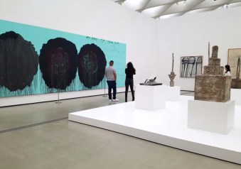 Cy Twombly. The Broad. Photo Credit Kristine Schomaker