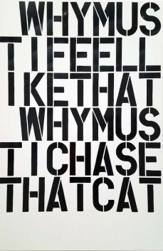 Christopher Wool. The Broad. Photo Credit Kristine Schomaker