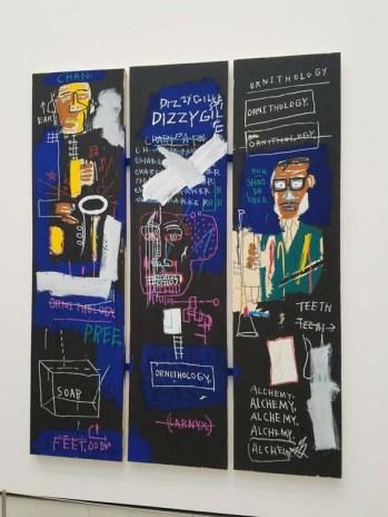 Jean Michel Basquiat. The Broad. Photo Credit Kristine Schomaker