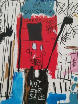 Jean Michel Basquiat. The Broad. Photo Credit Kristine Schomaker