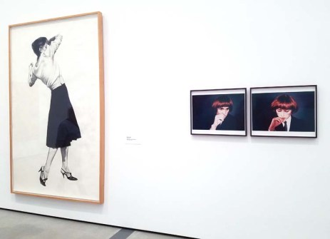 Robert Longo and Cindy Sherman. The Broad. Photo Credit Kristine Schomaker