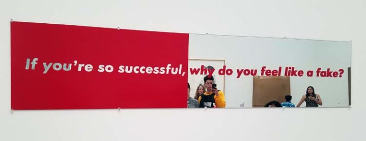Barbara Kruger. The Broad. Photo Credit Kristine Schomaker