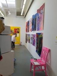Adrian Cole. Claremont Graduate University MFA Open Studios. Photo Credit Jacqueline Bell Johnson.