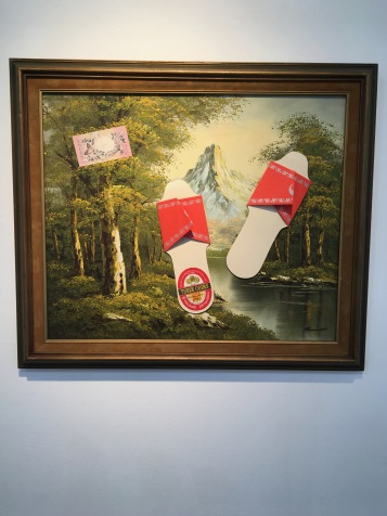 Alexis Smith, Untitled, 2016. On Point. Craig Krull Gallery. Photo Credit Amy Kaeser.