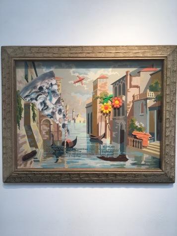 Alexis Smith, Venetian Villa, 2016. On Point. Craig Krull Gallery. Photo Credit Amy Kaeser.