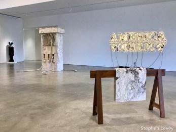 Allora Calzadilla. The Marciano Art Foundation. Photo Credit Stephen Levey.