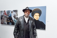 ICONIC: Black Panther. Gregorio Escalante Gallery, Los Angeles, CA. Photo Courtesy of April Geg Birdman.