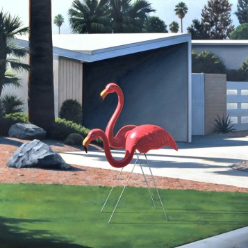 Danny Heller. Modern Leisure. Photo Courtesy of George Billis Gallery.