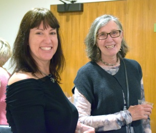Jennifer Gunlock and Sue Tuemmler. Man Made. The Brand Library and Art Center. Photo Credit Kristine Schomaker.