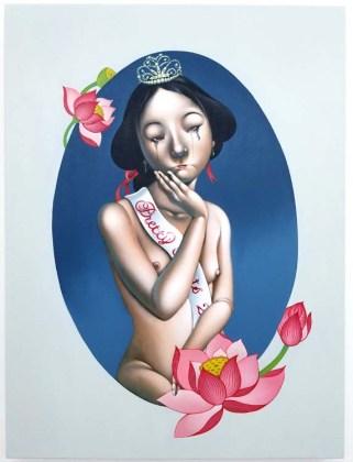 Phung Huynh. Pretty Hurts. CB1 Gallery. Photo Credit Kristine Schomaker.