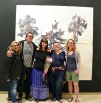 Jennifer Gunlock. Man Made. The Brand Library and Art Center. Photo Credit Kristine Schomaker.