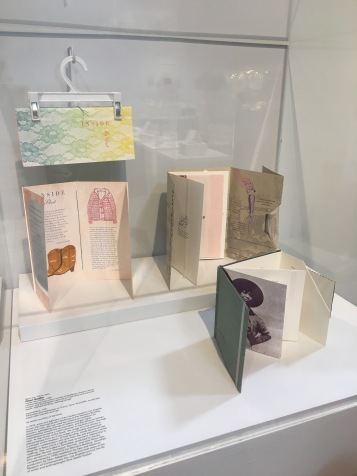 Chapters: Book Arts in Southern California. The Craft & Folk Art Museum. Cheri Gaulke. Inside My Closet 1989, Impediment 1991. Photo Credit Amy Kaeser.