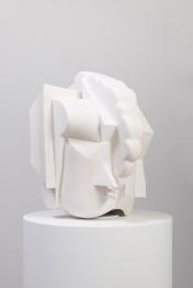 Brian Bress Hill of Stones, 2017 Aqua-resin, foam, wood, steel, PVC, glue, latex, tricot 26 x 20 x 22 in. Photo Courtesy of Cherry and Martin.