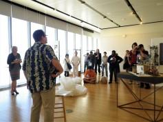 Dr. Gary Williams playing traditional Okinawa string instrument called Sanshin2