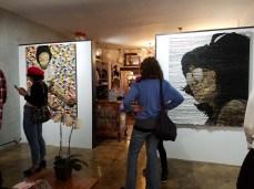 Opening Reception. Her Intuition. Brainworks Gallery. Photo Credit Kristine Schomaker