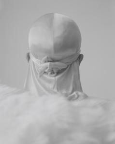 John Edmonds Ascent, 2017 Archival pigment print on Japanese silk. Photo Courtesy of ltd los angeles.