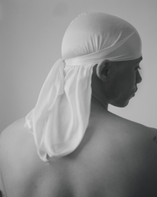 John Edmonds The Prince, 2017 Archival pigment print on Japanese silk. Photo Courtesy of ltd los angeles.